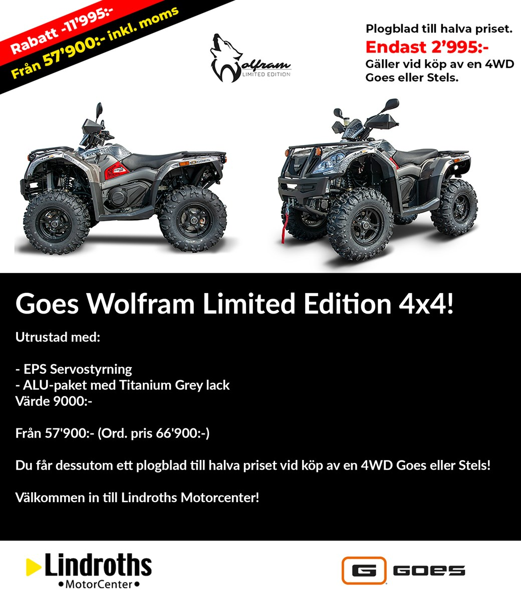 Goes Wolfram Limited Edition 4x4!