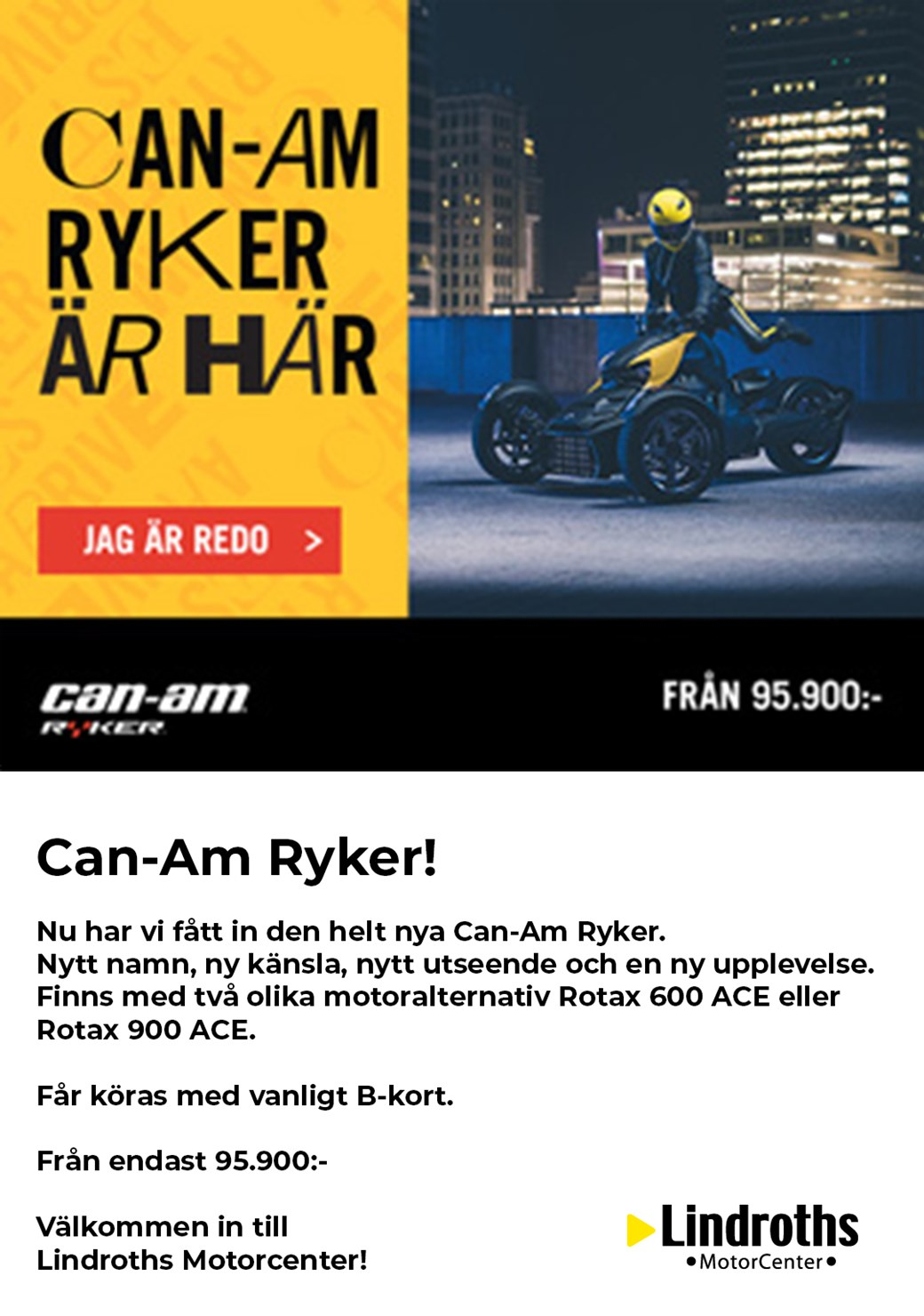 Can-Am Ryker!