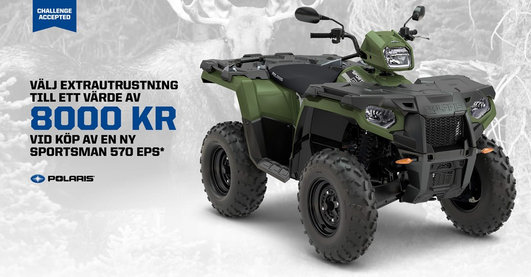 Polaris Sportsman 570 EPS Kampanj!